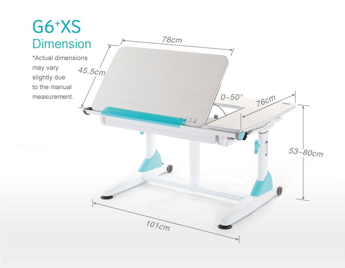 G6+XS Study Table