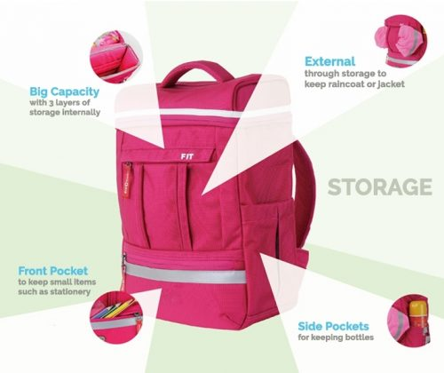 Kid2Youth FIT School Backpack Singapore