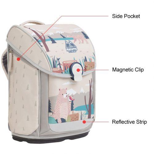 M0210 Bear School Bag