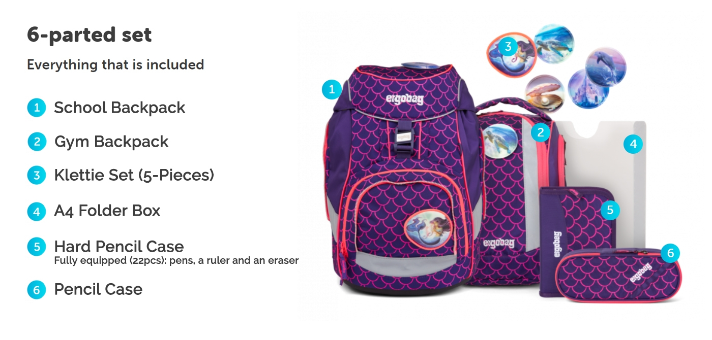 Pack Set Pearldivebear